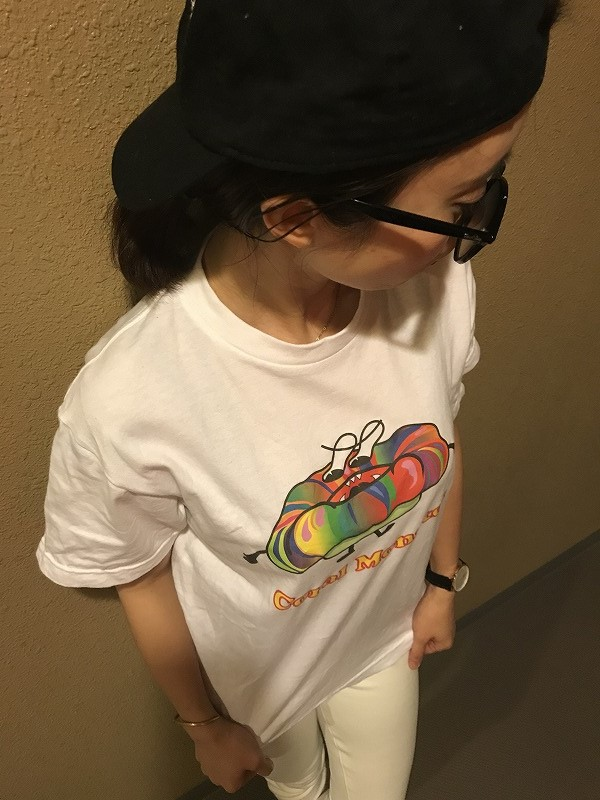 Coral Monsterオリジナル Tシャツ